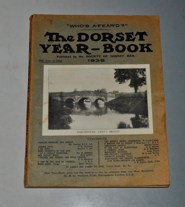 Image for The Dorset Year Book for 1935.