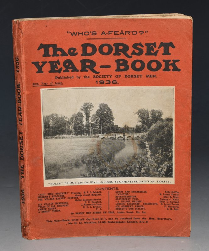 Image for The Dorset Year Book for 1936.