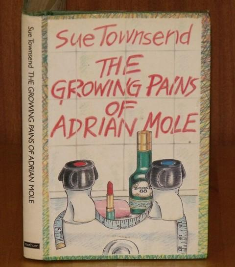 Image for The Growing Pains of Adrian Mole. Line drawings by Caroline Holden.