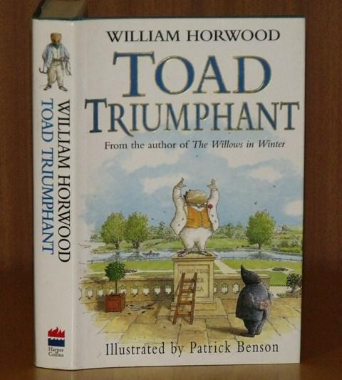 Image for Toad Triumphant. Illustrated by Patrick Benson.