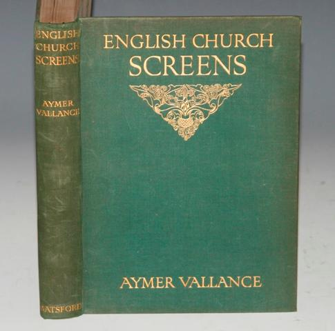 Image for English Church Screens Being Great Roods, Screenwork & Rood-Lofts of Parish Churches in England & Wales