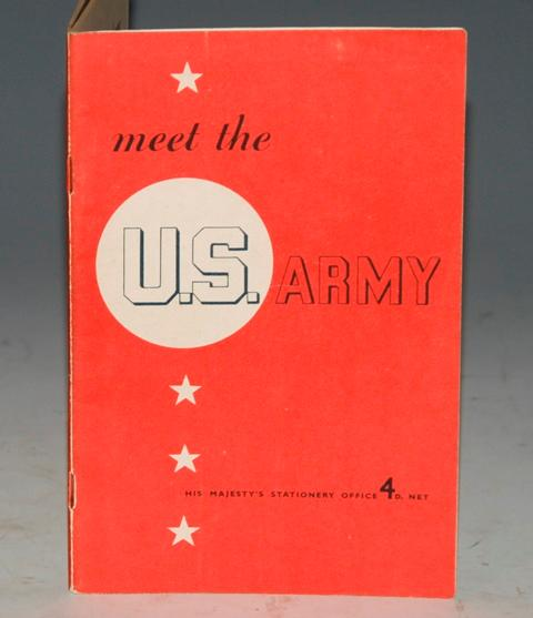 Image for Meet The U.S. Army Prepared for The Board of Education by the Ministry of Information.