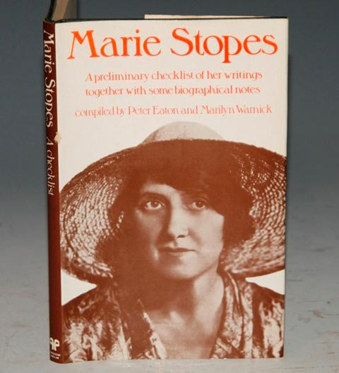 Image for Marie Stopes A Checklist of Her Writings