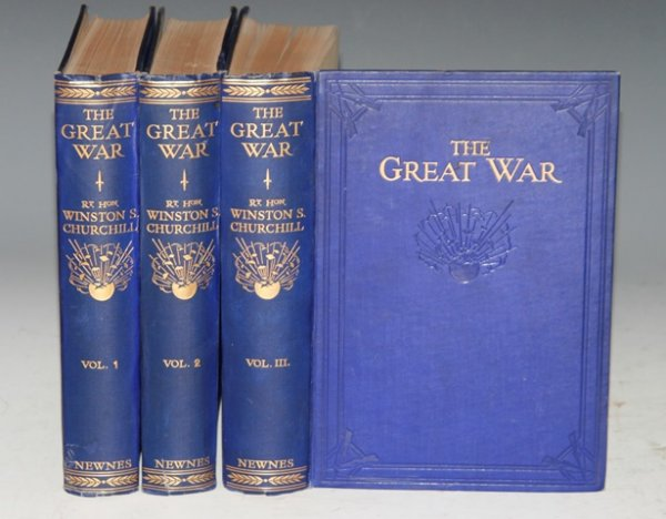 Image for The Great War. Fully illustrated with photographs, drawings and maps. Three volumes.