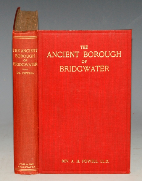 Image for The Ancient Borough of Bridgwater In The County of Somerset