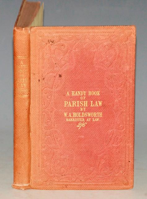 Image for The Handy Book of Parish Law