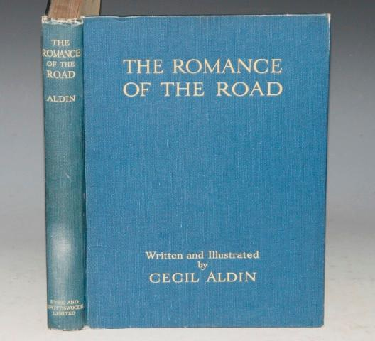 Image for The Romance of the Road. Written & illustrated by C. Aldin. 'Cheap Edition'