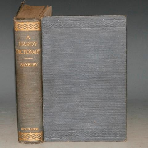 A Thomas Hardy Dictionary. The Characters and Scenes of the Novels and Poems Alphabetically Arranged and Described.