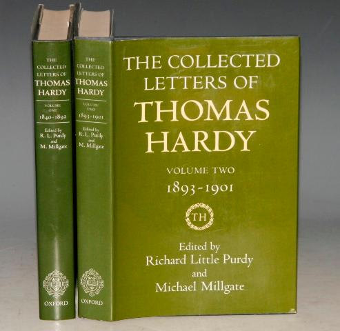 The Collected Letters of Thomas Hardy. Two Volumes. Volume One 1840-1892, and Volume Two 1893-1901.