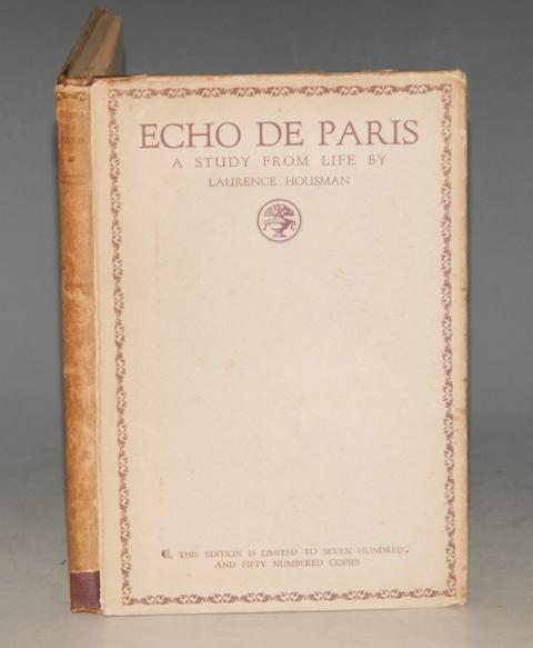 Image for Echo de Paris. A Study from Life. Limited Numbered Edition.