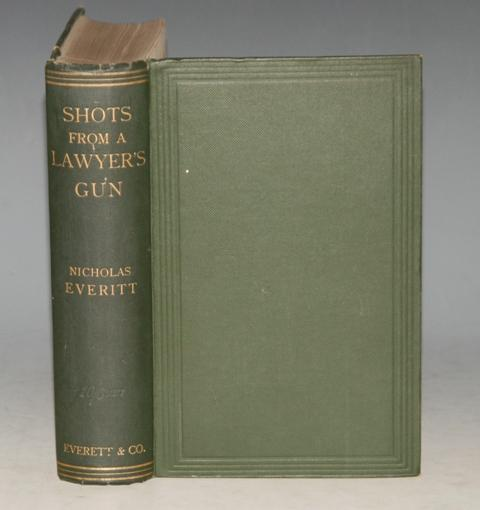 "Image for Shots from a Lawyer's Gun. Fifth Edition, Enlarged, with Table of Statutes; List of Cases; and Chapters on New Subjects. Illustrated by Wallace MacKay (contributor to ""Punch"") and other artists."