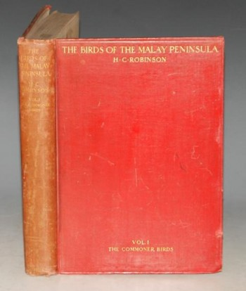 Image for The Birds of The Malay Peninsula. Volume 1: The Commoner Birds. A General account of the Birds inhabiting the region from the Isthmus of Kra to singapore with the adjacent islands.