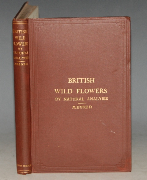 Image for British Wild Flowers by Natural Analysis. A New and Easy Method of Studying.. Being A Complete Series of Illustrations of their Natural Orders and Genera Analitically Arranged.