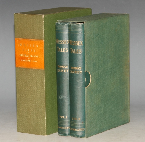 Image for Wessex Tales. Strange, Lively and Commonplace. Two Volumes in Slipcase. RARE FIRST EDITION.