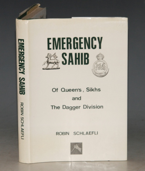 Image for Emergency Sahib. Of Queen's, Sikhs and The Dagger Division. SIGNED.