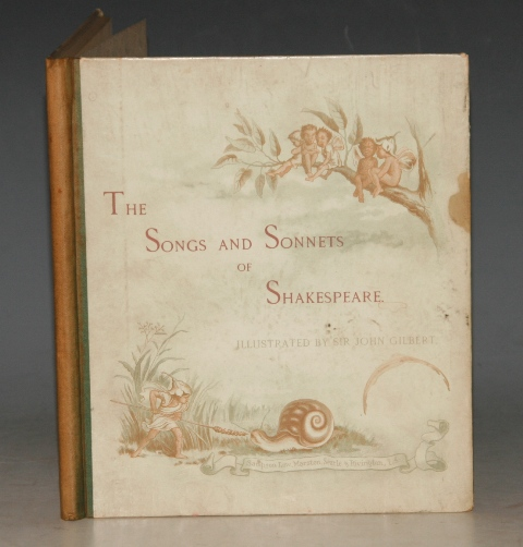 Image for The Songs and Sonnets of Shakespeare. (Shakespeare's Songs and Sonnets)