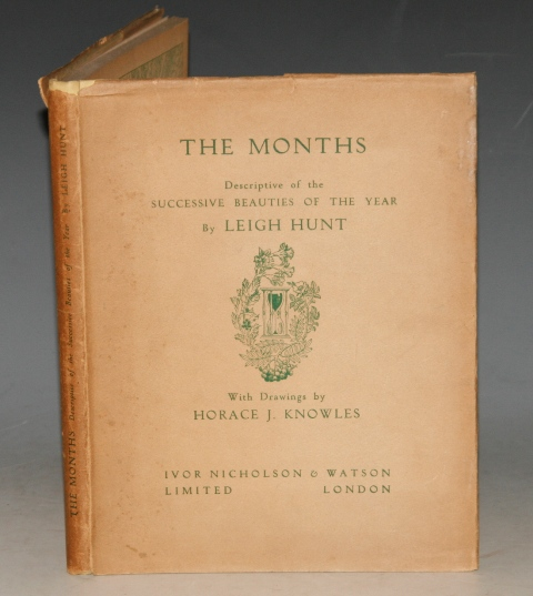 Image for The Months. Descriptive of the Successive Beauties of the Year. With Drawings by Horace J. Knowles.