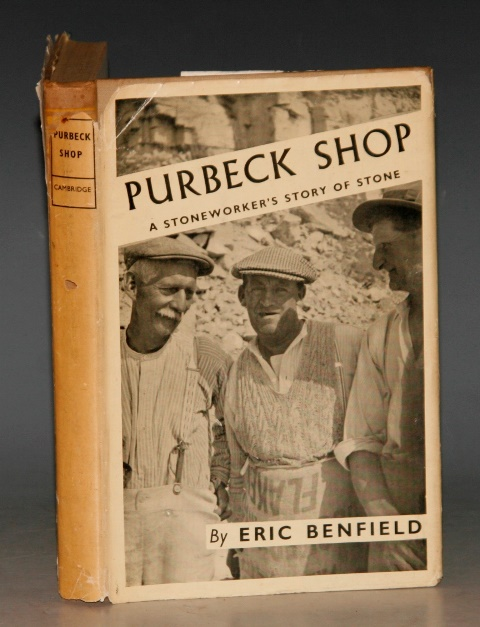 Image for Purbeck Shop. A Stoneworker's Story of Stone. With an Introduction by Professor A. E. Richardson.