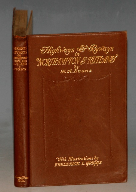 Image for Highways and Byways in Northamptonshire and Rutland. With illustrations by Frederick L. GRIGGS. Pocket Edition.