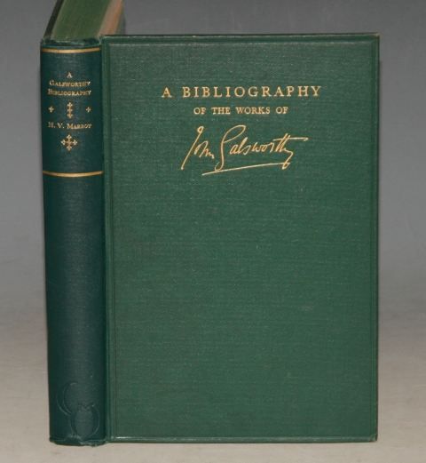 Image for A Bibliography of the Works of John Galsworthy. SIGNED/ Inscribed by the Author.