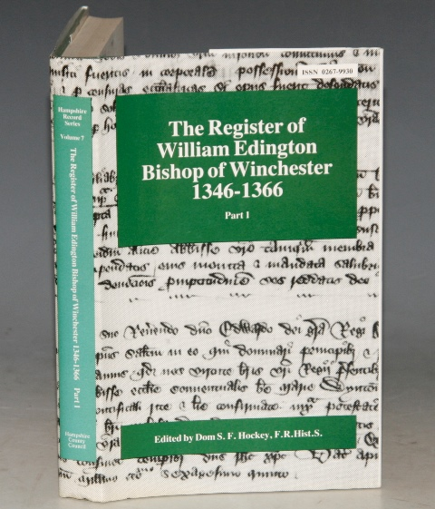 Image for The Register of William Edington Bishop of Winchester, 1346-1366