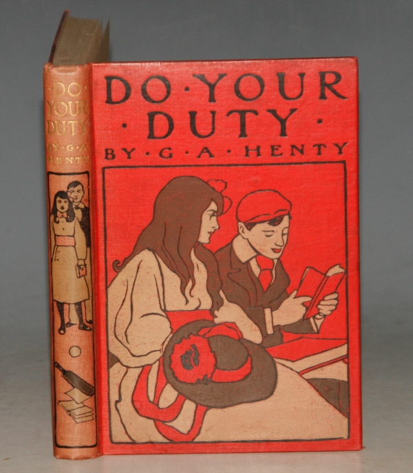 Image for Do Your Duty. With Coloured Frontispeice and Seven Full-Page Illustrations.