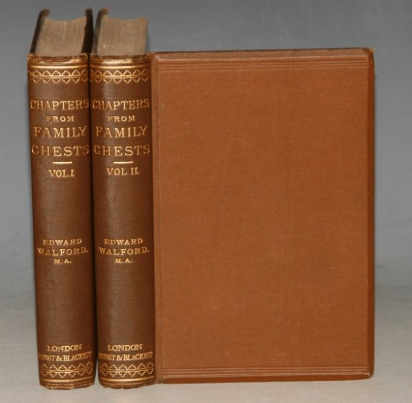 Image for Chapters from Family Chests. Two Volumes.
