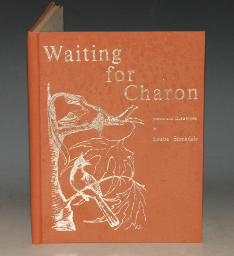 Image for Waiting For Charon. Poems and Illustrations by Louise Stockdale. SIGNED.