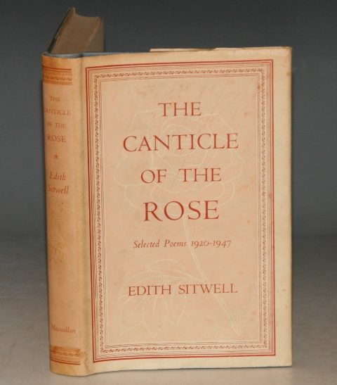Image for The Canticle of the Rose. Selected Poems 1920-1947.
