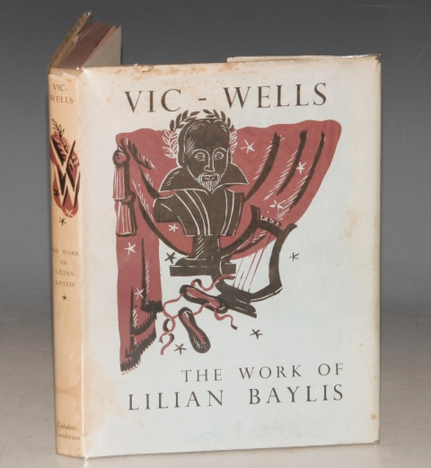 Image for The Work of Lilian Baylis. Edited by Harcourt Williams. Photographs by Angus McBean.