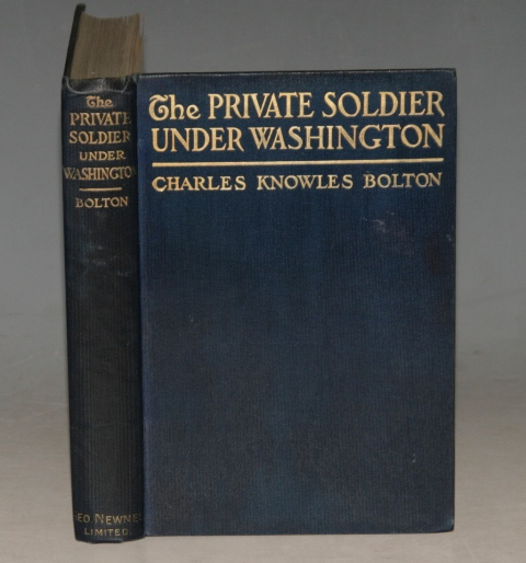 Image for The Private Soldier Under Washington. Illustrated.