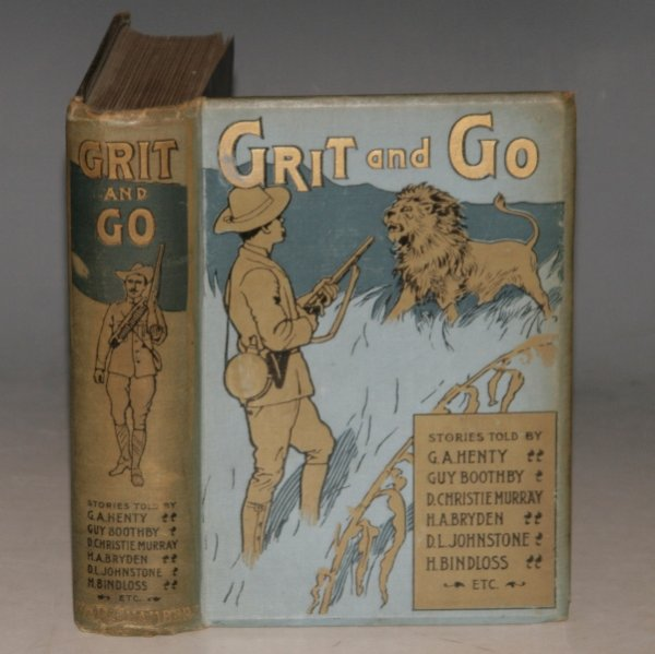 Image for GRIT AND GO. Stories Told by various authors.
