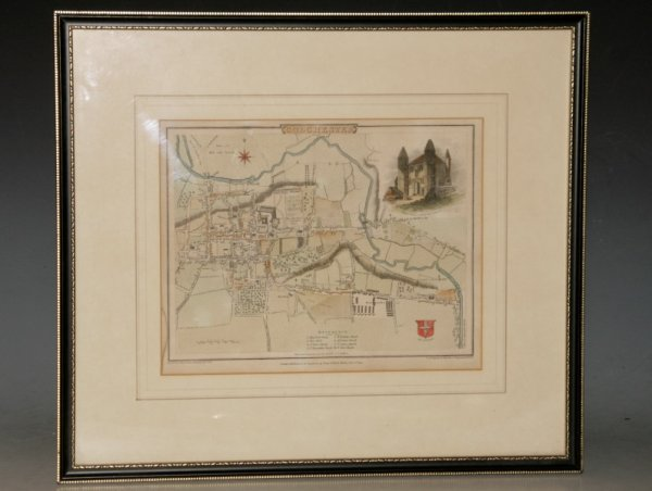Image for (Original Engraved Map of...) Colchester. ... to Accompany the Beauties of England and Wales.