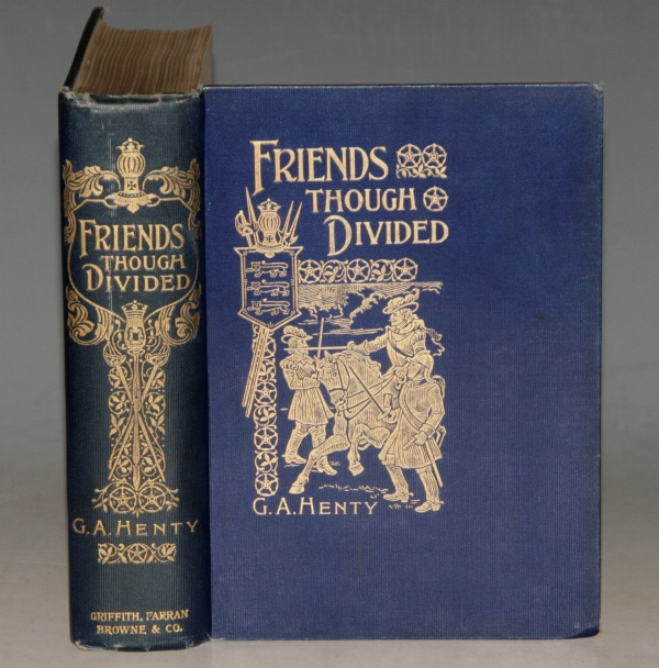 Image for Friends Though Divided. A Tale of the Civil War. Illustrated.