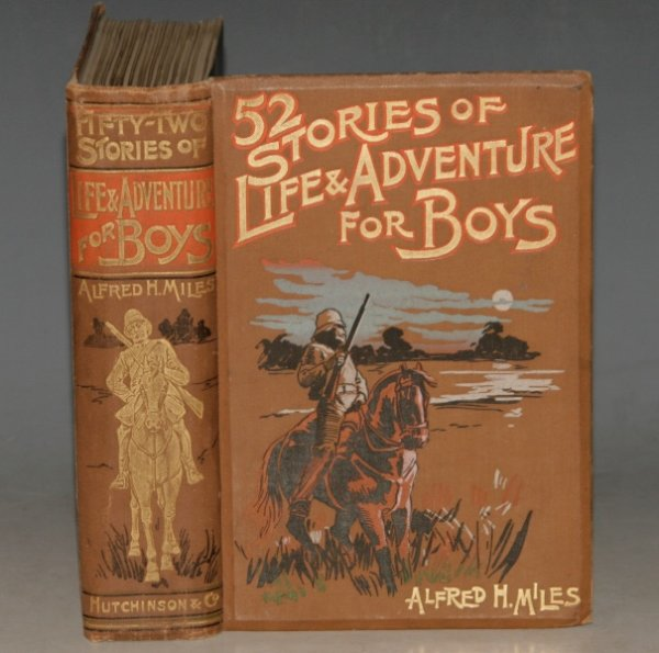 Image for 52 Stories of Life and Adventure for Boys. Illustrated.