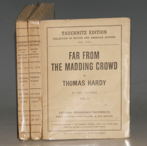 Image for Far From The Madding Crowd. Tauchnitz Edition. Collection of British and American Authors. Vols. 1722. / 1723. In Two Volumes.