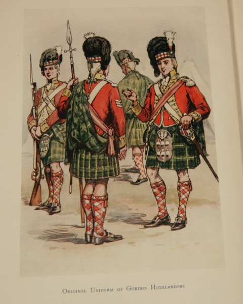 Image for The Life of A Regiment. The History of the Gordon Highlanders from its Formation in 1794 to 1816. Volume 1 Only.
