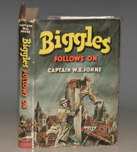 Image for Biggles Follows On. A Story of the Cold War in Europe and Asia. Illustrated by Stead.