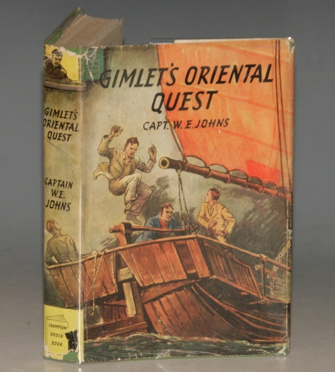 "Image for Gimlet's Oriental Quest. A ""King of the Commandos"" Adventure. With illustrations by Stead."