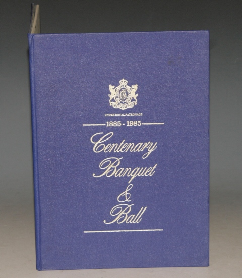 Image for Centenary Banquet & Ball 1885 - 1995