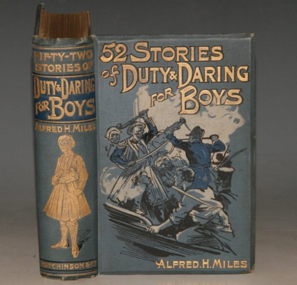 Image for 52 Fifty-Two Stories of Duty and Daring for Boys. Illustrated.
