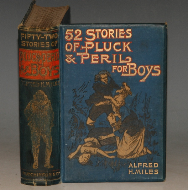 "Image for ""An Indian surround"", by G.A. Henty  (pp. 257 - 269).   IN: 52 STORIES OF PLUCK & PERIL FOR BOYS."