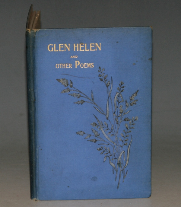 Image for Glen Helen And Other Poems.