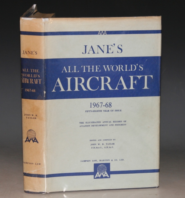 Image for Jane's All the World's Aircraft 1967-68. Fifty-Eighth Year.