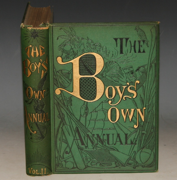 Image for THE BOY'S OWN ANNUAL. Vol. 11. October 6th 1888 - September 21st 1889.