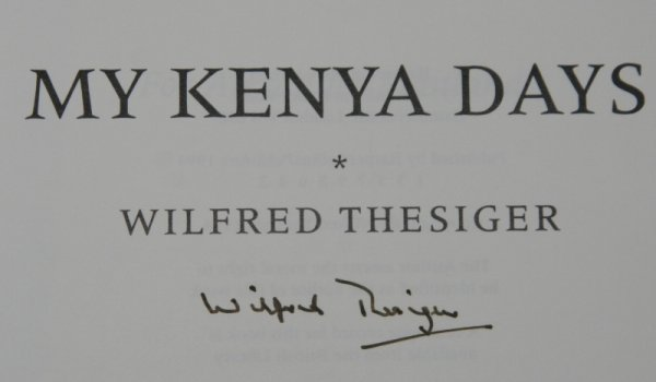Image for Among the Mountains. My Kenya Days. SIGNED.