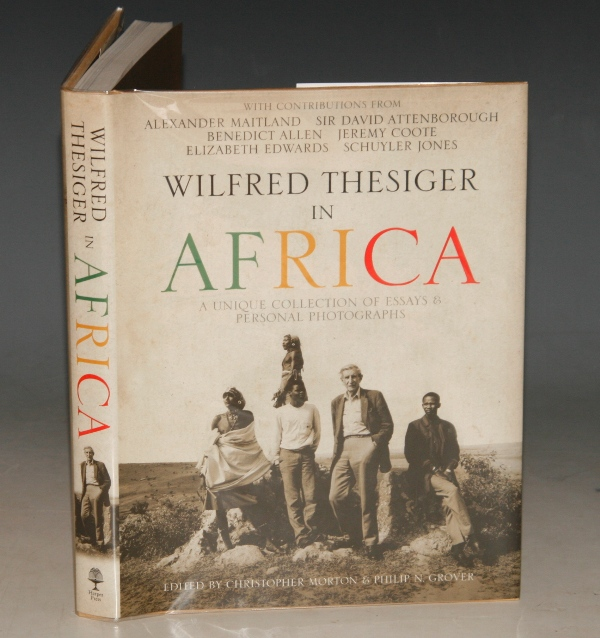 "Image for Wilfred Thesiger in Africa. Published to Accompany ""Wilfred Thesiger in Africa: A Centenary Exhibition,"" Pitt Rivers Museum."