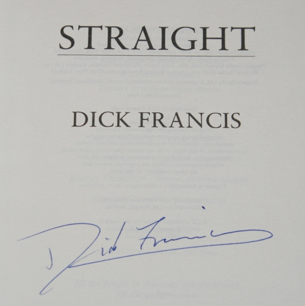 Image for Straight. Signed, Limited Numbered Edition in Slipcase.