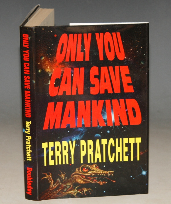 Image for Only You Can Save Mankind Signed by the Author.