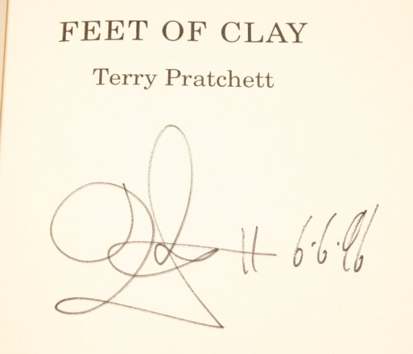 Image for Feet of Clay Signed by the Author.